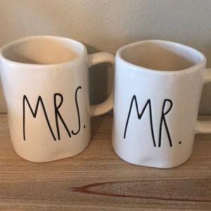 Mr and Mrs Rae Dunn Mug Set